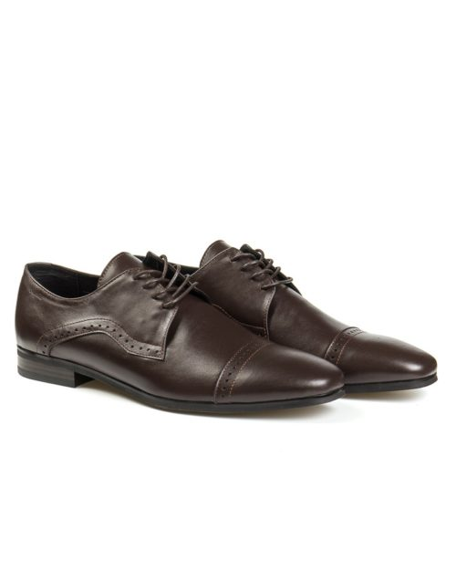 Квотерброг Leiston quarter brogue derby