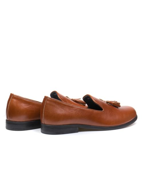 Лоферы Trent cognac tassel loafers