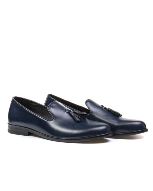 Лоферы Trent deep navy tassel loafers