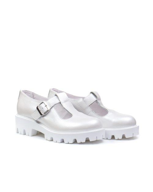 Туфли Mary Jane snow-white