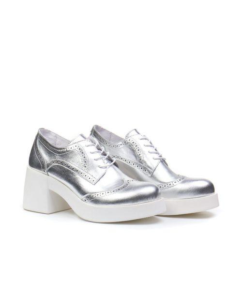 Броги Madison all silver brogues