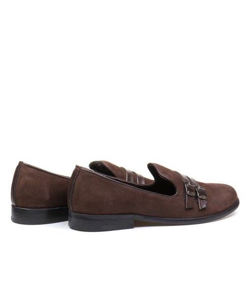 Лоферы Eden umber buckle loafers