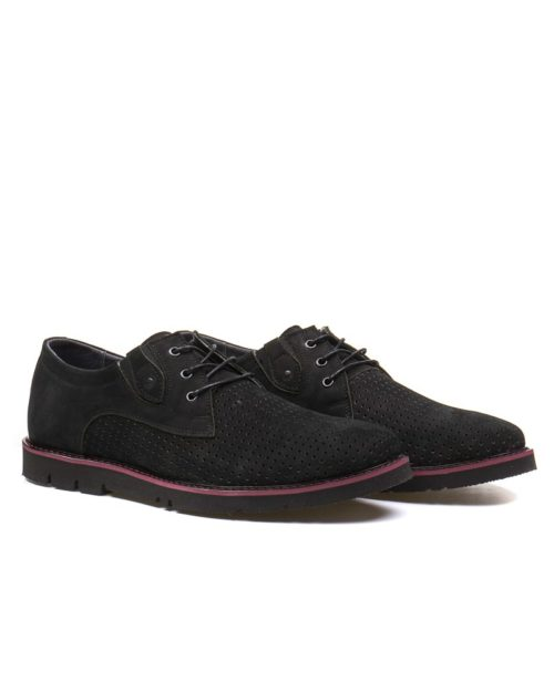 Туфли Cramer black сross-cutting shoes
