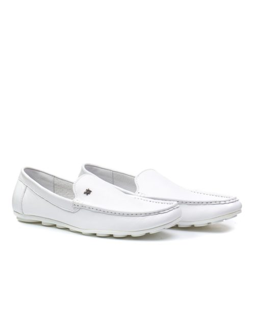 Мокасины Blomfield white moccasins