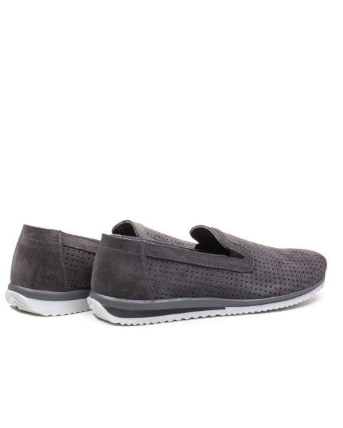 Слипоны Ocean Breath gray sneakers sole