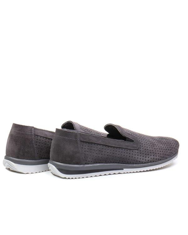 Слипоны Ocean Breath gray sneakers sole