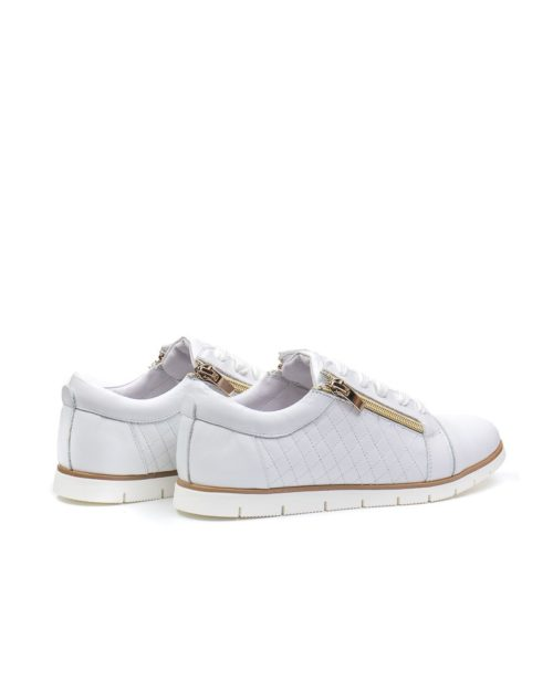 Кроссовки Lily chessy white sneakers