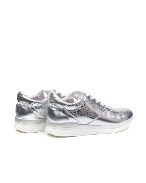 Кроссовки Jewel silver sneakers