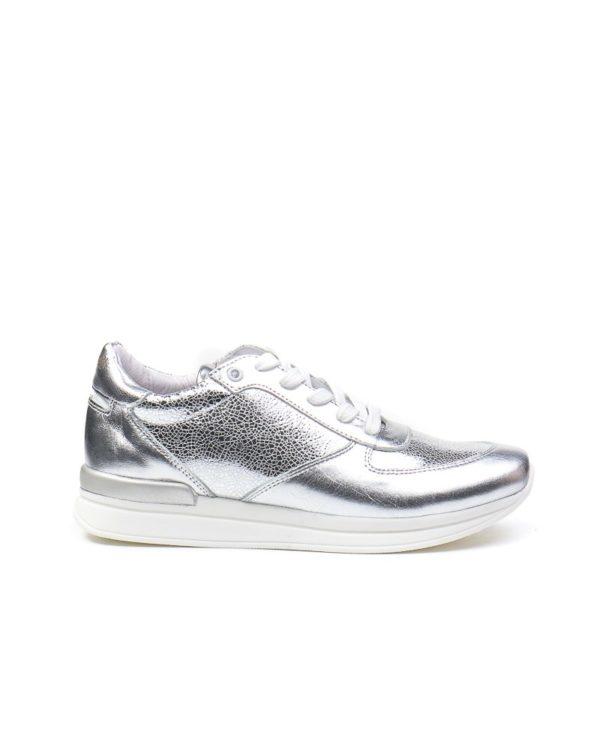 Кроссовки Jewel silver sneakers