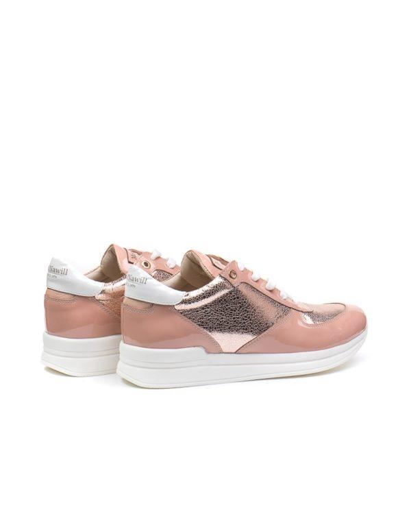 Кроссовки Jewel dark pink sneakers