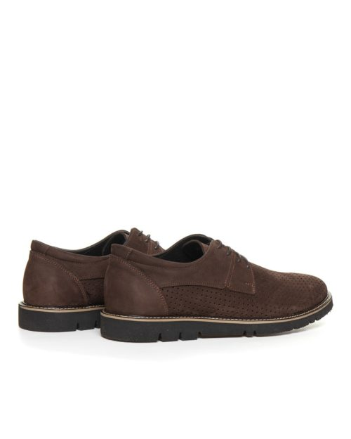Туфли Weld brown сross-cutting shoes