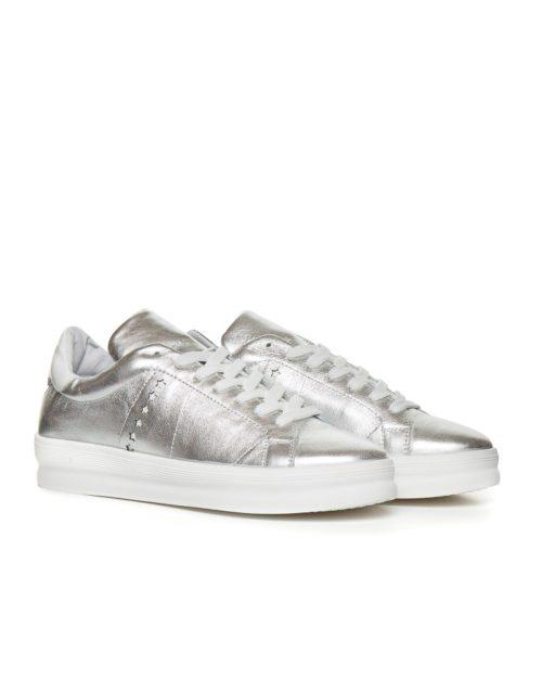 Кеды  Galaxy silver sneakers