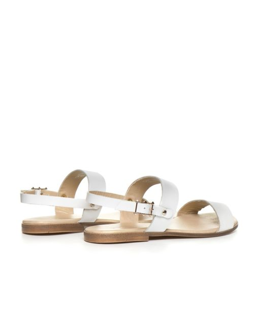 Босоножки Sand white sandals