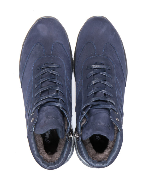 Зимние кроссовки Matt Nawill, модель Rapid azure-4