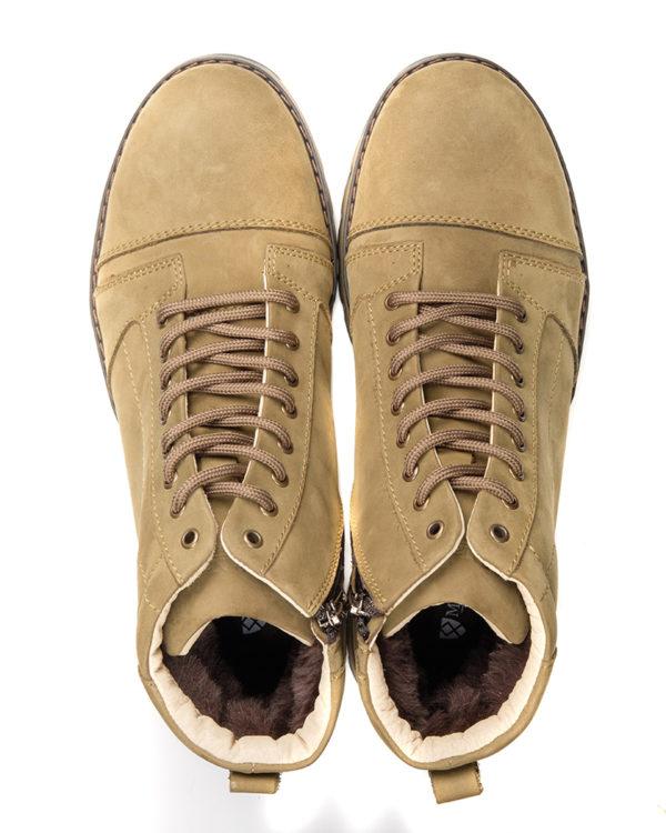 Ботинки Locked olive от Matt Nawill