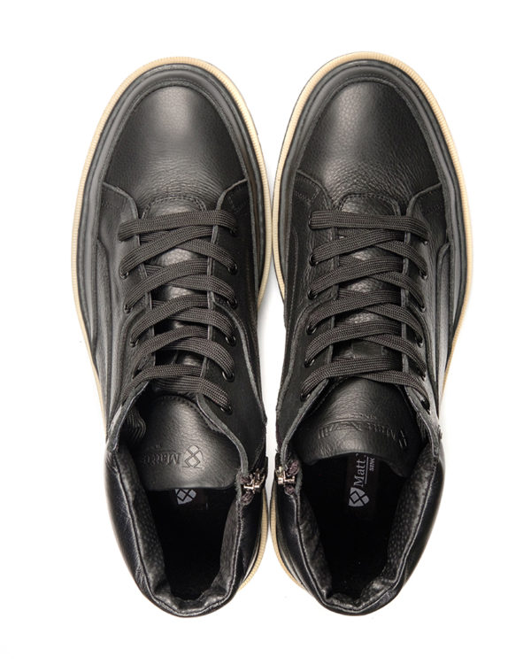 Ботинки Ermon black от Matt Nawill
